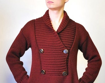 Gucci Chunky Knit Wool Sweater