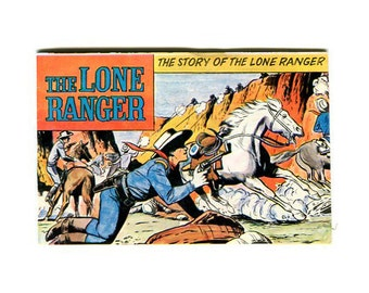1973 The Story of the Lone Ranger mini comic from Gabriel Industries
