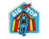 Big Top Iron On Patch