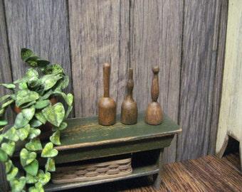 Miniature Potato Mashers Dollhouse Collection