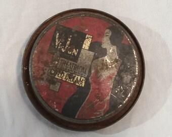 Vi-Jon Theatrical cold cream tin, 2 oz, vintage. St. Louis