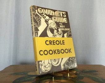 Creole Cookbook Vintage Recipes Gourmets Guide to New Orleans Paperback 1972 by Caroline Merrick Jones