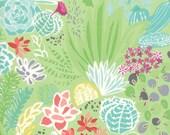Cactus Green Desert Canyon Fabric -  Moda - Kate Spain - 27220 12