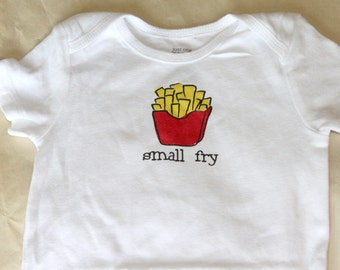 Small Fry Baby Bodysuit (sizes newborn to 24 months)