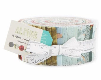 CHRISTMAS IN JULY Sale - In Stock - Alpine - Jelly Roll - by Erin Michael for Moda Fabrics