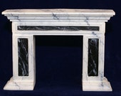 1:12 Scale Fireplace Mantel - Colonial Panel Mantel (C2)