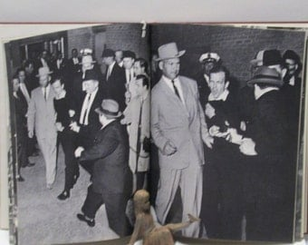 JFK BOOK Original Kennedy Assassination Commemorative History, Pictorial Democrat Political The Torch is Passed B/W Oswald Photos
