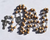 Saint Francis of Assisi St Anthony of Padua Picture Jasper Rosary