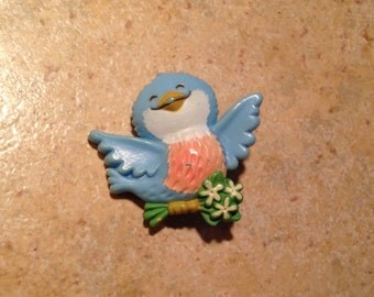 Bluebird of Happiness Brooch by Hallmark