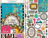 Believe Collection - Noteworthy Die Cuts - Bo Bunny