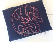 Machine Embroidery Design Embroidery Grand Monogram Floss Stitch INSTANT DOWNLOAD