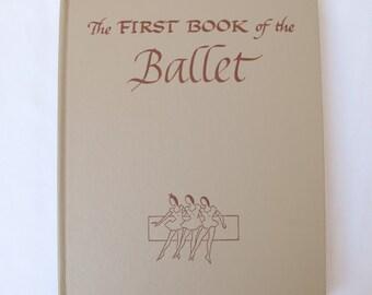 1953 Ballet Children The First Book of the Ballet Noel Streatfeild Illustrator Moses Soyer Classical Dance Steps Famous Ballerinas 1950s