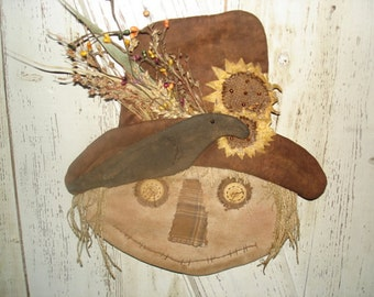 Made to Order, Scarecrow Pete Door Hanger, Fall, Thanksgiving, Autumn, Scarecrow, Ofg, Faap, Hafair, Dub