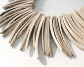 Natural Wood Stick Beads - coconut indian stick 2 inch - 25pcs  (PC202F)