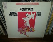 Barbra Streisand and Omar Sharif Funny Girl Vintage Vinyl Record