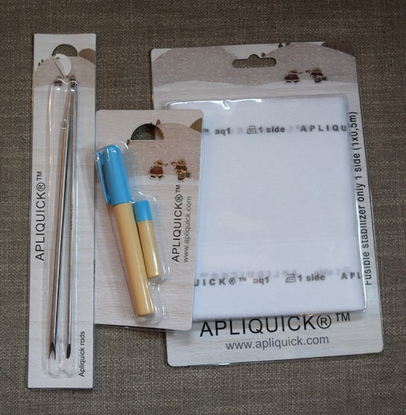 Apliquick Starter Set tools for easier Applique