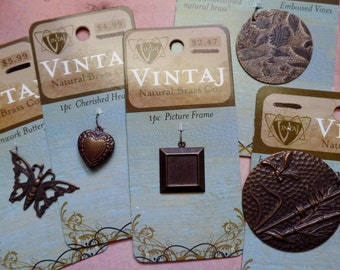 Vintaj Collection Of 5 Pieces (Sale)