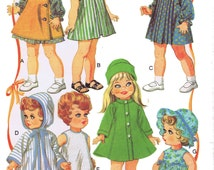 Doll Clothes PATTERN 9061 for Betsy Wetsy Betsy Baby Giggles Baby Bevi Ruthie Quality Photocopies 1960s