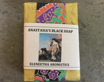 Anastasias African Black Soap With Balsam Fir And Chaparal