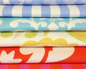 SALE Dena Designs Fat Quarter Bundle of 6 FQ's, Taza Fabric, geometric, Euro, Scandinavian, European Modern, CLEARANCE, fq special