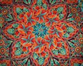 Kaleidoscope Quilted Table Topper