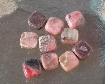 Rhodonite Stone Squares