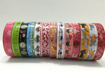 Kawaii Deco Tape Mix Grab Bag - Buy 5 get 3 FREE - Limited time only