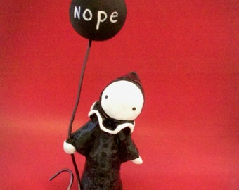 Nope Poppet   - Lisa Snellings