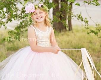 Light Pink Junior Bridesmaid Tutu Skirt