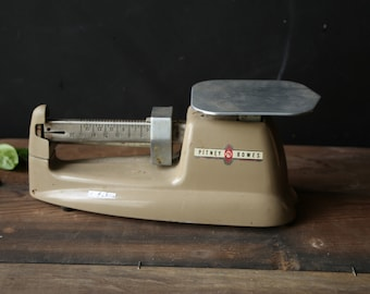 Working 1950s Rustic Scale Retro Industrial Office Decor Vintage From Nowvintage on Etsy