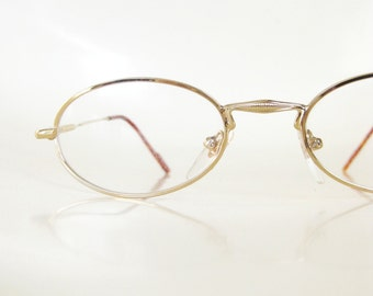 SALE 1970s Readers Vintage Reading Glasses Metallic Gold Gleaming Shiny Seventies 70s Tortoiseshell Indie Hipster Chic Deadstock Authentic