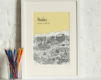 Personalised Paisley Print