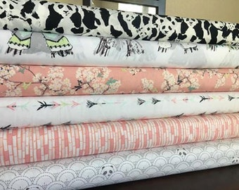 Pandalicious Art Gallery Fabric Fabric Bundle, choose your cut