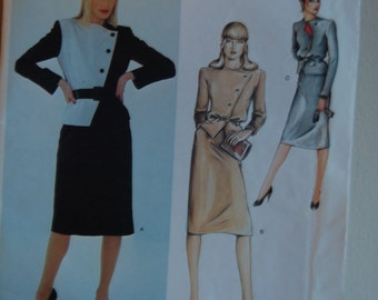 Vogue Paris Original Sewing Pattern 2470 Christian Dior size 12