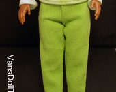 Lammily Lime Green Jeans