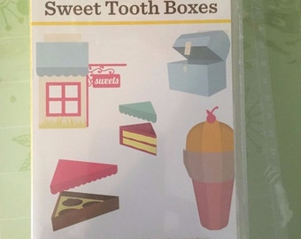 NEW Factory Sealed Cricut Sweet Tooth Boxes Art Cartridge 50 Images