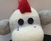 Gideon the Punk Sock Monkey