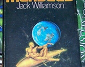 Vintage Book, Outerspace, Manseed, Adventure, Robot, Novel, Fiction, Jack Williamson, Computers, Rocket, Mars Expedition, Free Shipping