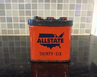 Allstate Battery collectible bank