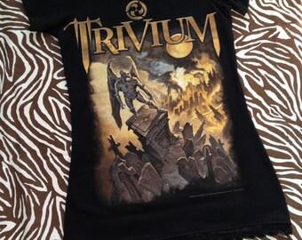 Trivium Off Shoulder T-Shirt