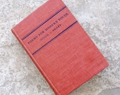 Vintage Poetry Book Poems for Modern Youth Gillis Benet Hardcover 1938