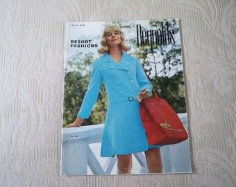 Knitting Supplies Reynolds Pattern Booklet 1960's  Resort Fashions Vol. 74