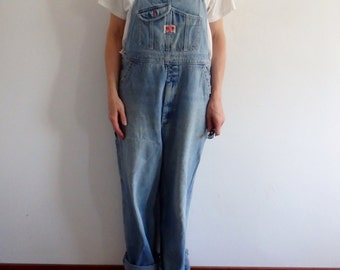 Womens Overalls Vintage Jeans