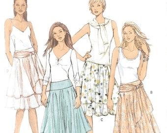 Butterick B4520, Sewing Pattern, Ladies Skirts 16-18-20-22