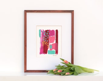 Original Painting : Abstract Color Study 2