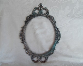 Vintage Ornate Frame Plaque For Crafts