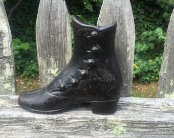 Antique cast iron childs mannequin boot
