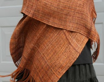 "Kendrick Kreations original handwoven shawl, ""That Special Shawl""."