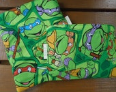 Reusable sandwich bag and/or reusable snack bag - Reuse sandwich bag - Reusable snack bag - Ninja turtles
