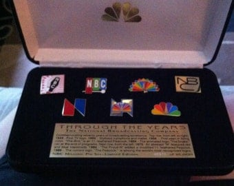 1996 Olympic Trading Pins-NBC Through the Years